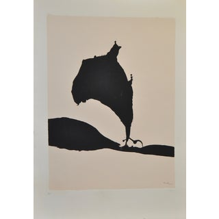 "Robert Motherwell ""Africa No.9"" Silkscreen C.1970"