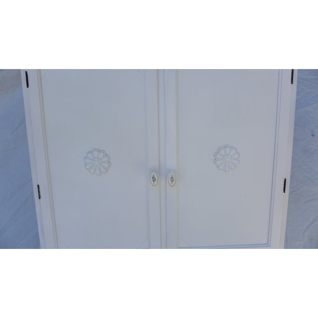 Antique White Painted Cabinet - Image 3 of 8