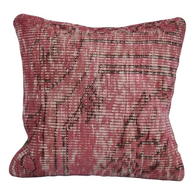 Turkish Handmade Kilim Pillow - Image 1 of 5