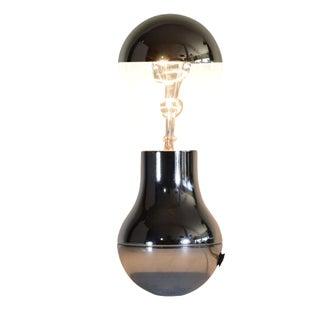 Italian Light Bulb Shaped Table Lamp