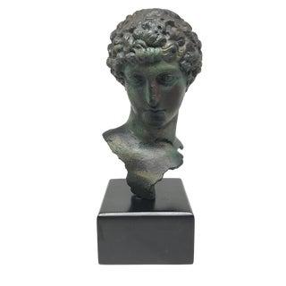 Roman Man Bust Statue