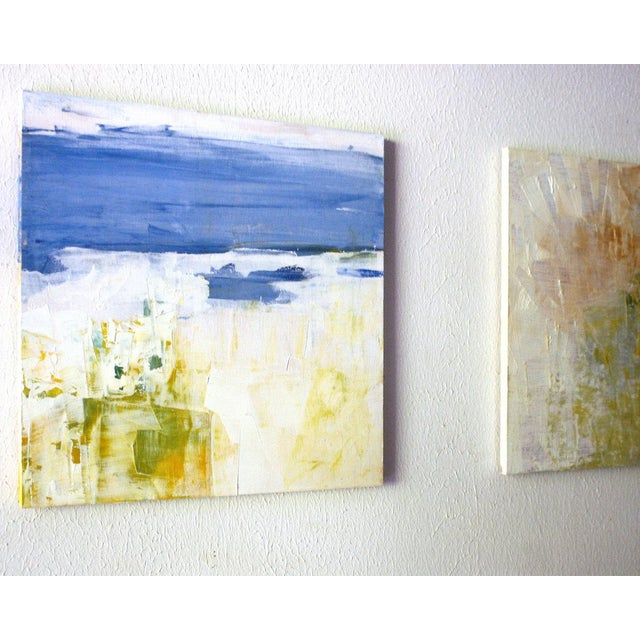 Paul Ashby Abstract Modern Square Oil Painting - Image 3 of 4