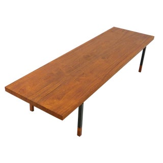 Teak & Steel Coffee Table by Johannes Aasbjerg for Illums Bolighus
