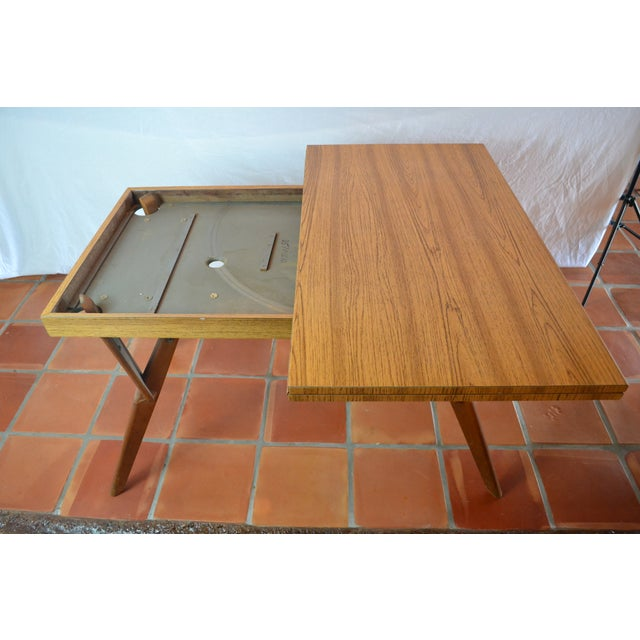 Mid-Century Convertible Castro Dining/Coffee Table - Image 5 of 11