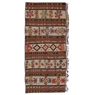 Uzbek Embroidered Kilim