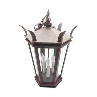Gothic Style Iron Lantern