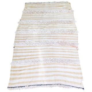 Moroccan Wedding Blanket Rug - 4′ x 6′6″