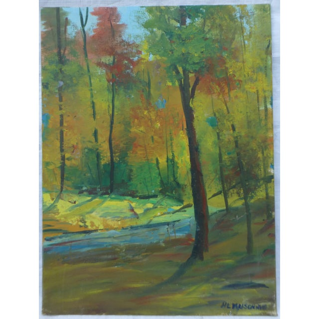 Fall Leaves Painting by H. L. Musgrave - Image 2 of 6