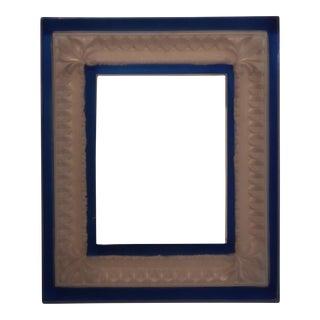 Inverted Fleur De Lys Picture Frame