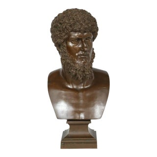 19th Century, Italian Bronze Bust of Lucius Verus by F. Barbadienne Foundry