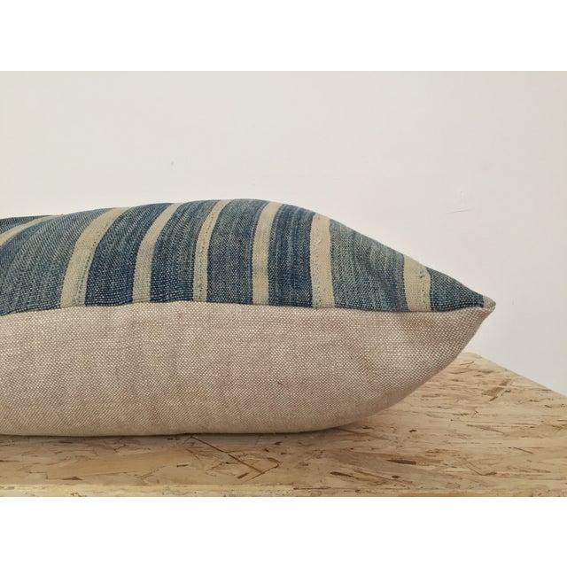 Indigo Cloth Large Pillow - Image 4 of 4