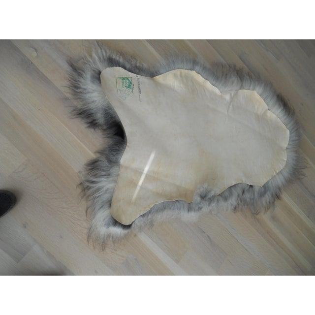 Nordic Gray and Black Sheep Throw - Image 5 of 7
