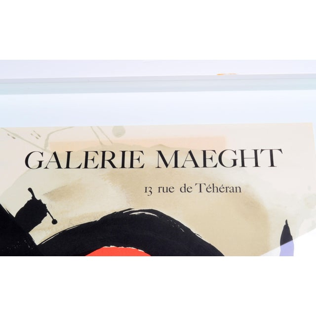 Image of Joan Miró Lithograph Poster By Galerie Maeght