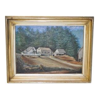 19th C. California Oil Painting