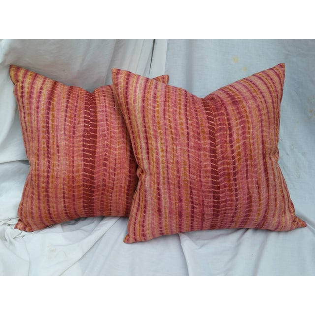 Image of Hand Batiked Burmese Pillows - Pair