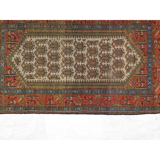 "Antique Persian Bakhshayeh, 4' x 2'6"" - Image 2 of 3"