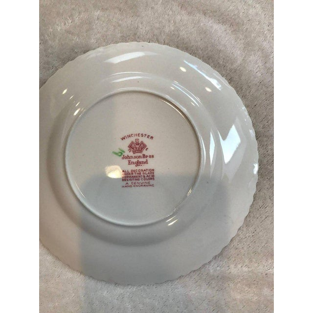 Winchester Johnson Bros China Set - Service for 12 - Image 4 of 9