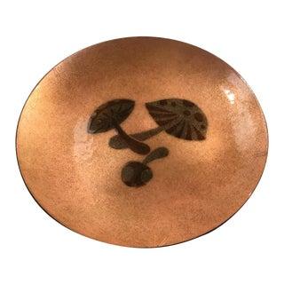 Annemarie Davidson Enameled Copper Dish