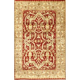 Pasargad Hand Knotted Tabriz Rug - 4′ × 6′