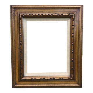 Vintage Carved Gold Frame