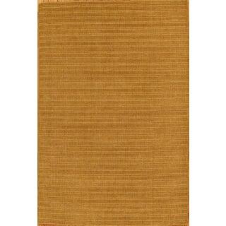"""Modern Hand-Loomed Wool Area Rug - 5'7"""" X 8'5"""""""