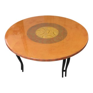 Art Deco Round Coffee Table