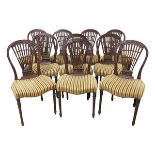 Maison Jansen Mahogany Dining Chairs - 10