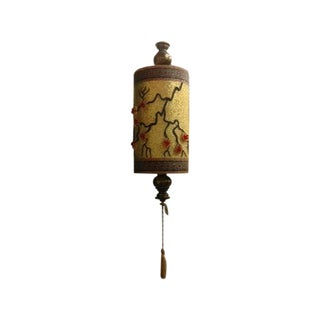 1940s Chinoiserie Hanging Swag Lamp
