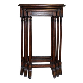Set of Edwardian Style Wood Nesting Tables