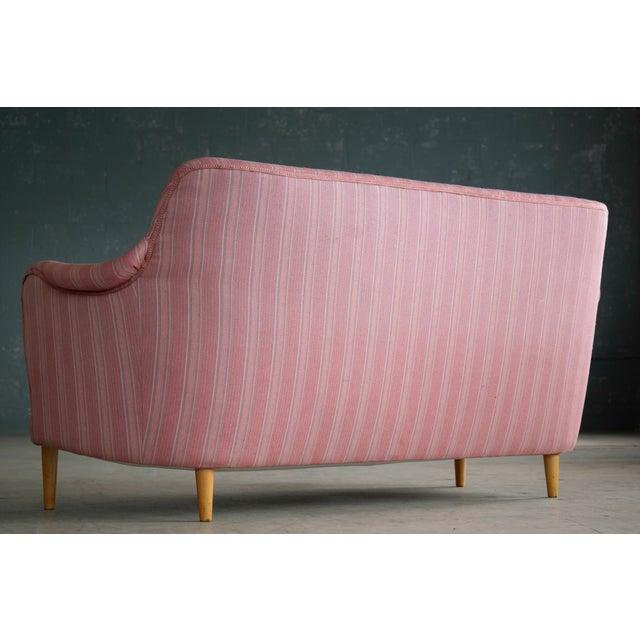 Scandinavian Carl Malmsten Sofa Model Samsas for O.H. Sjogren, Midcentury - Image 10 of 10