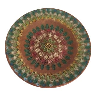 Vintage Handmade Studio Pottery Tray