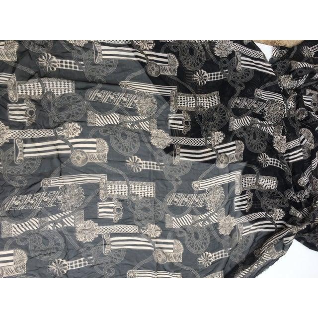 Versace Column & Rope Chiffon Fabric - Image 4 of 8