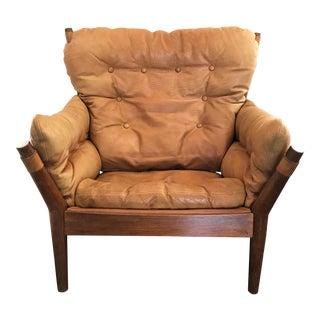 John Mortensen Lounge Chair Model 4521 for Magnus Olesen