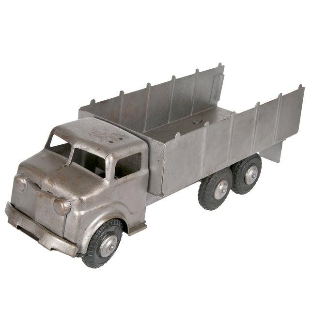 Image of Vintage 1940s Refurbished Lumar Marx Steel Truck