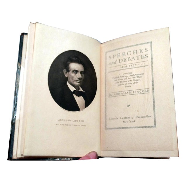 """Limited Ed. 1907 """"Works of Abraham Lincoln"""" - 8 - Image 9 of 10"""