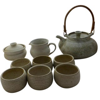 Mid-Century Studio Pottery Tea Set