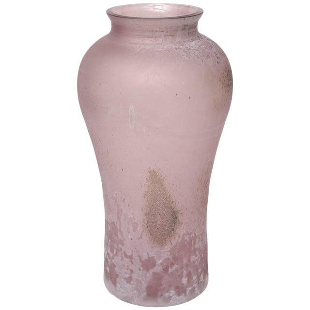 Cenedese Scavo Glass Urn - Image 1 of 8