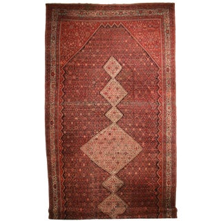 """RugsinDallas Palace Size Antique Hand Knotted Wool Persian Malayer Rug - 14' X 29'7"""""""