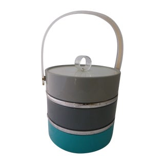 Mid-Century Retro Ice Bucket