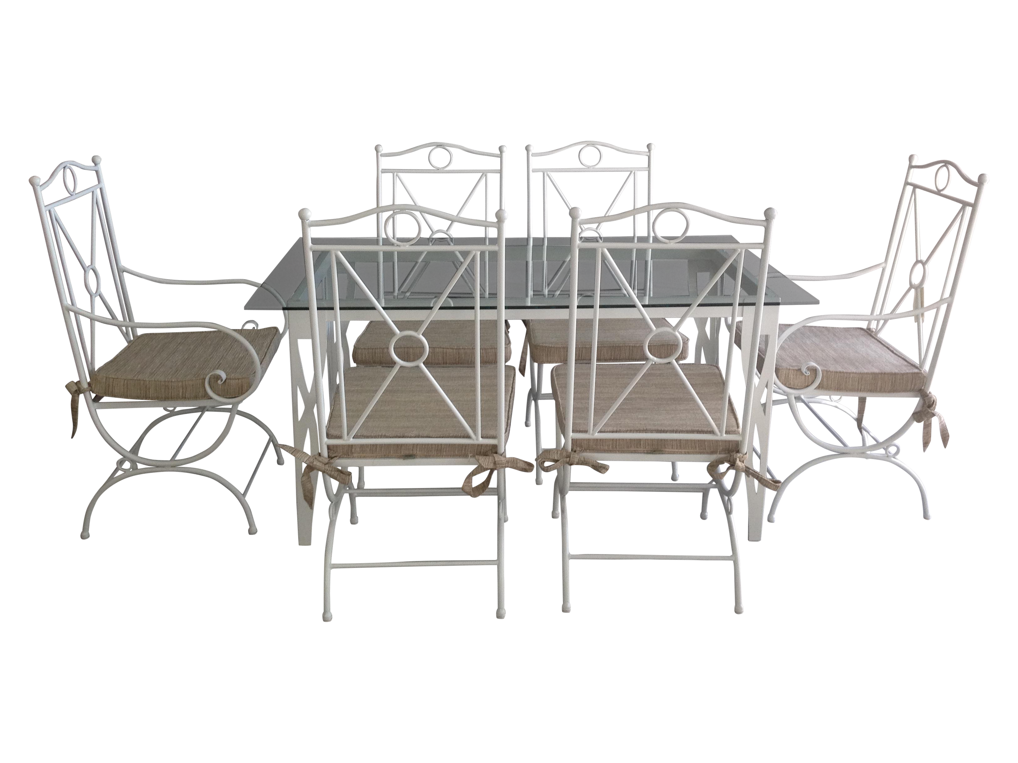 wrought iron patio furniture white wrought iron. handmade white wrought iron patio dining set furniture