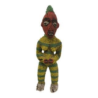 African Art Tribal Art Bamileke Beaded Statue