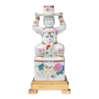 Chinese Warrior as a Table Lamp