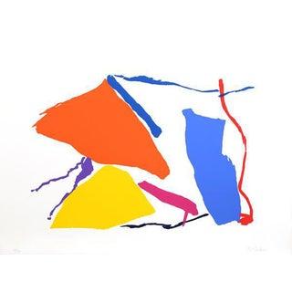 "1980 Raymond Parker ""Untitled 9"" Print"