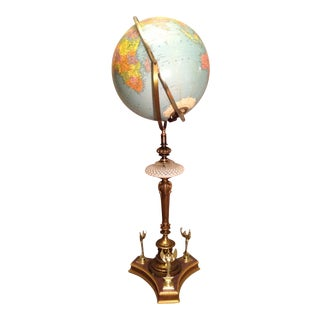 Retro Cornucopia Voltaire's Globe Lamp