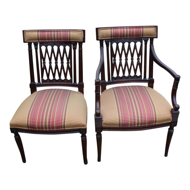 Mid century modern dining chairs set of 8 chairish for Modern dining chairs ireland