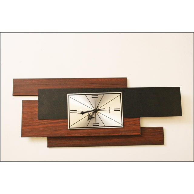 1960s Danish Modern George Nelson Style Wall Clock - Image 4 of 11