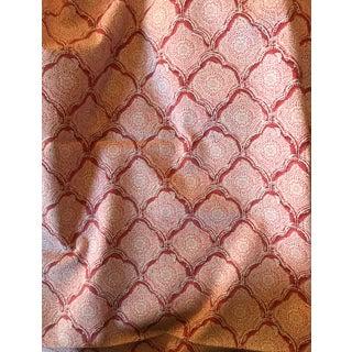 "Kravet Coral ""Kashmira"" Shell Print Fabric - 1 Yard"