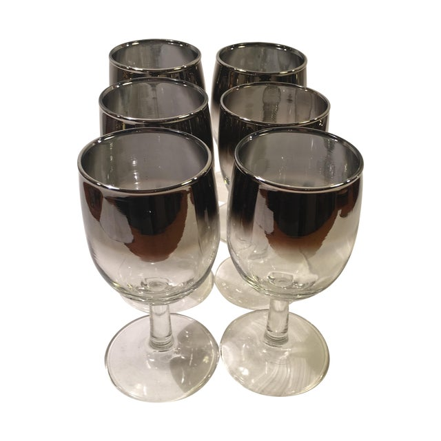 Mercury Fade Wine Glasses - Set of 6 - Image 1 of 3