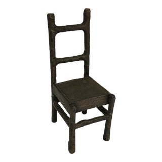 Forged Iron Decorative Chair