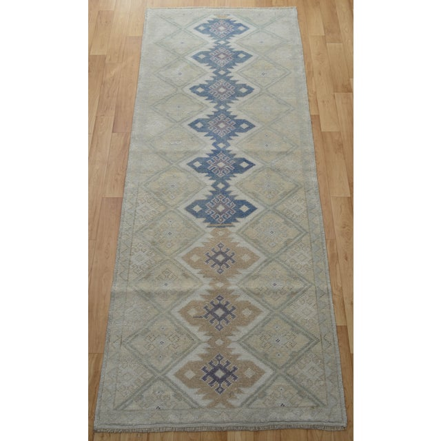 "Hand-Knotted Turkish Rug - 2'8"" x 6'9"" - Image 5 of 9"